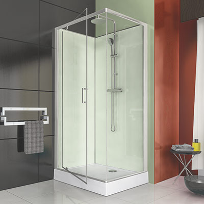 cabine de douche 100x80 cm guide d 39 achat cabine de douche. Black Bedroom Furniture Sets. Home Design Ideas
