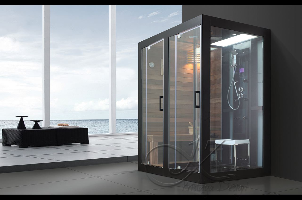cabine de douche avec hammam un choix de luxe r fl chi. Black Bedroom Furniture Sets. Home Design Ideas